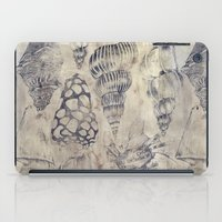 shells iPad Cases featuring Shells  by Laura Braisher