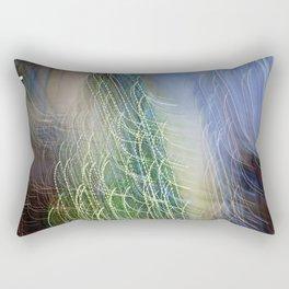 Abstract Lit Xmas Tree1 Rectangular Pillow
