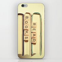 anaconda iPhone & iPod Skins featuring Read Books by Olivia Joy StClaire