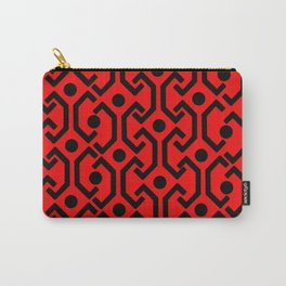 Ethic Pattern (red) Carry-All Pouch