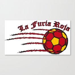 Spain La Furia Roja (The Red Fury) ~Group B~ Canvas Print
