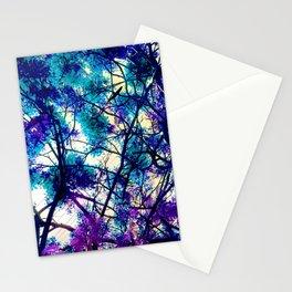 Blue Fantasy nature by Lika Ramati Stationery Cards