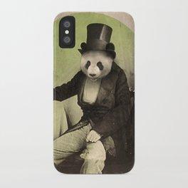 Proper Panda iPhone Case