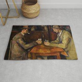 Paul Cézanne - The Card Players - Les Joueurs de Cartes Rug