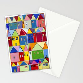 Little Houses Stationery Cards