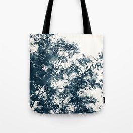 Blue Leaves #1 Tote Bag
