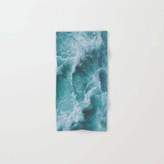 Electric Ocean Hand & Bath Towel