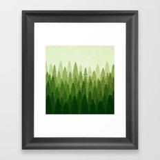 C1.3 Pine Gradient Framed Art Print