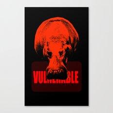 Vulnerable Hippopotamus Canvas Print