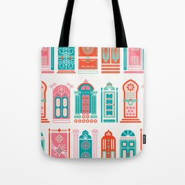Moroccan Doors – Watermelon Palette Tote Bag