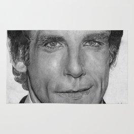 Ben Stiller Traditional Portrait Print Rug