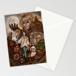 Labyrinth Tribute Stationery Cards