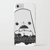 monster iPhone & iPod Cases featuring monster by jeff'walker