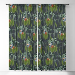 dodo in sugarcane forest Blackout Curtain
