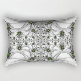 Fractal Freeclimbing, Modern Art With Perspective Rectangular Pillow