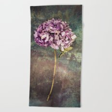 Beautiful Hydrangea Beach Towel