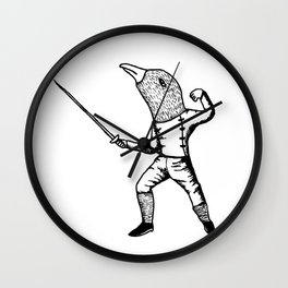 Fincher-Fencer Wall Clock