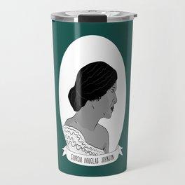 Georgia Douglas Johnson Illustrated Portrait Travel Mug