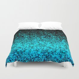 Glitter Dust Background G162 Duvet Cover