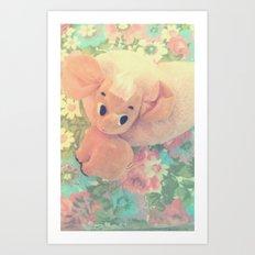 Darling Dumbo Art Print