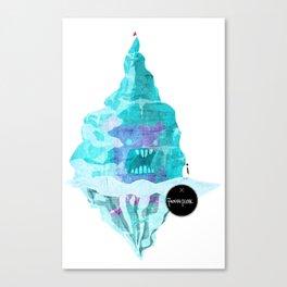 Frozen Fun Canvas Print