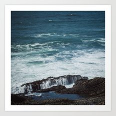 Pacific Blue Art Print