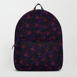 Spiral Bouquet Pattern Backpack