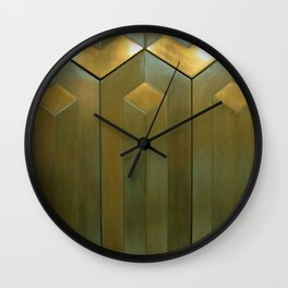 Going Up Wall Clock