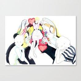 Whe love Fashion 2 Canvas Print