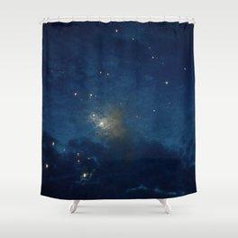 Psalm 136:9 Shower Curtain