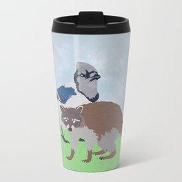 Mordecai and Rigby Travel Mug