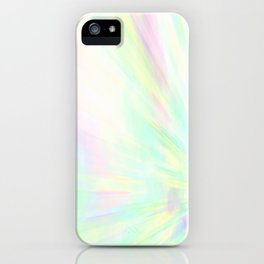 Re-Created Rapture 1 by Robert S. Lee iPhone Case
