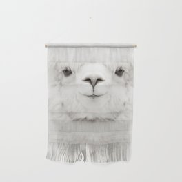 SMILING ALPACA Wall Hanging