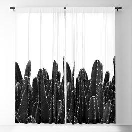 Black Cacti Dream #1 #minimal #decor #art #society6 Blackout Curtain