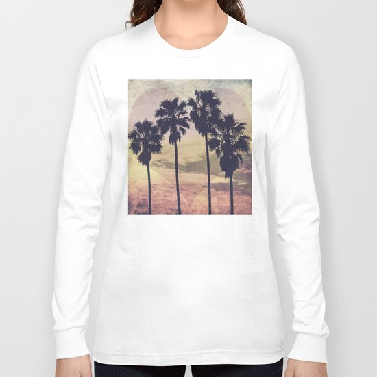 Heart and Palms Long Sleeve T-shirt