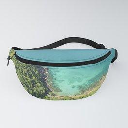 Turquoise Island Coastline  Fanny Pack