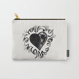 """If I Had A Heart, This Is What It Would Look Like"" Carry-All Pouch"