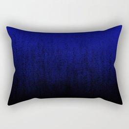 Cerulean Ombré Rectangular Pillow