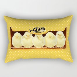 Cute baby chicken doll iPhone 4 5 6 7 8, pillow case, mugs and tshirt Rectangular Pillow