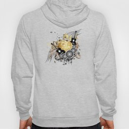 Golden disco ball Hoody
