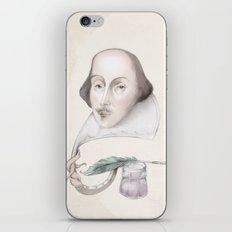 William Shakespeare iPhone & iPod Skin