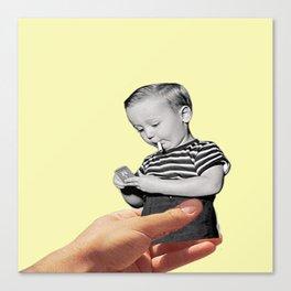 Don't Smoke Kid Canvas Print