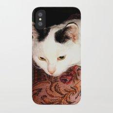 Human care iPhone X Slim Case