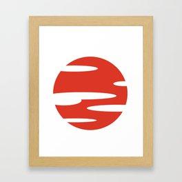 Samurai Champloo- Sunset Framed Art Print