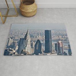 Chrysler Building New York Rug