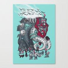 Dark Circusbot Canvas Print