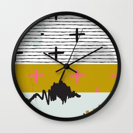 Space Theme Wall Clock