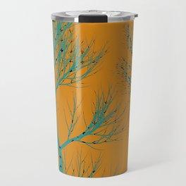 The Golden Hour tree art Travel Mug