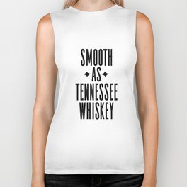 WHISKEY GIFT IDEA, Smooth As Tennessee Whiskey,Bar Decor,Bar Cart,Party gift,Drink Sign Biker Tank