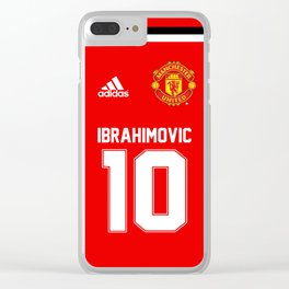 Ibrahimovic Edition - Manchester United Home 2017/18 Clear iPhone Case